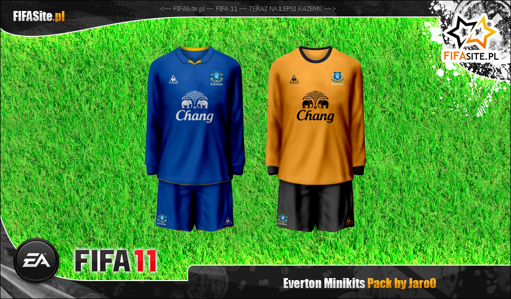 Everton Minikits Pack