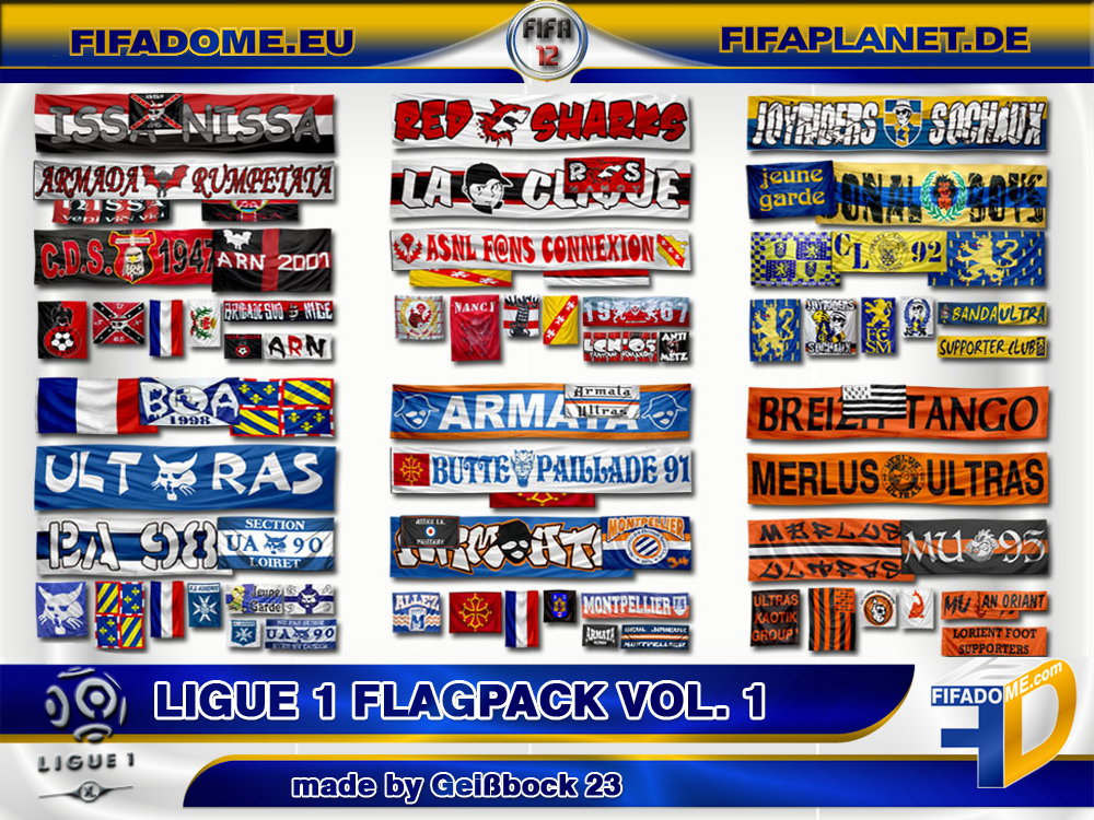 Ligue 1 Flagpack Vol. 1